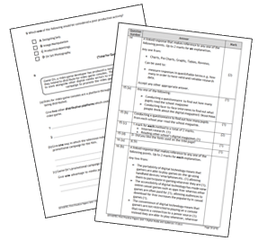 Media Studies Practice Exam Papers for BTEC First Level 1