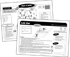 Skills and Tactics Cards for KS3 PE