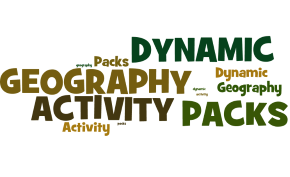 GCSE Eduqas A Dynamic Geography Activity Packs