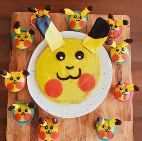 Pokemon Mottoparty Teil 8 Pikachu Kuchen Und Muffins