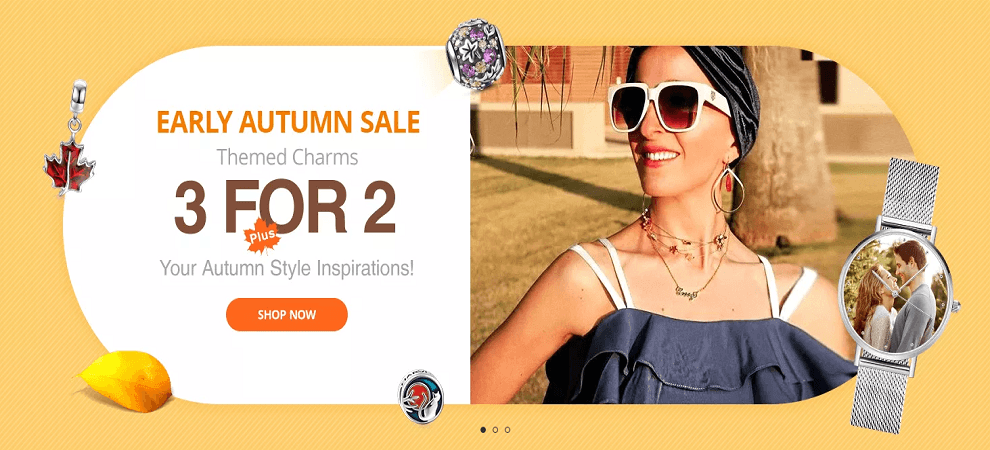 Soufeel Autmn Sale US Themed Charms