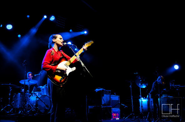 Anna Calvi @ L'Olympia - Festival des Inrocks