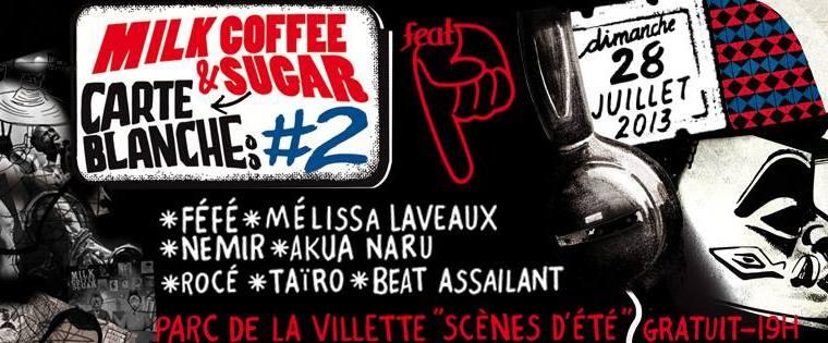 Concert gratuit : Carte Blanche #2 Milk Coffee & Sugar