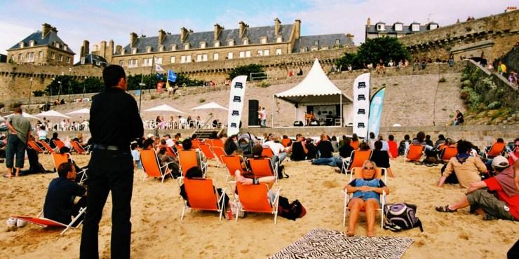 Route du rock 2008 photo Pauline Auzou