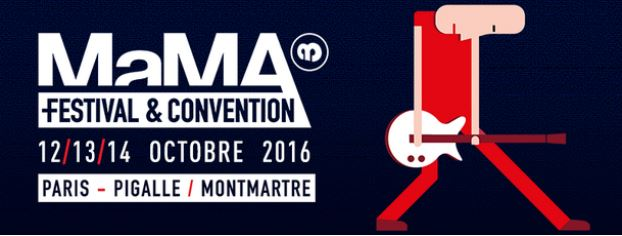 MaMA is back,  les 12, 13 et 14 octobre 2016