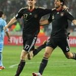 Germany tempat ke 3 Piala Dunia 2010.