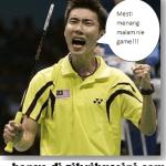 Lee Chong Wei Bertemu Lindan Final sekali lagi di Guangzhao!!