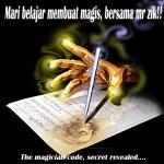 Zik the magician code, cara untuk hilangkan duit syiling dalam gelas