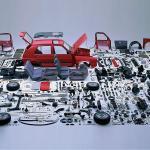 Apabila semua komponen kereta di pisah-pisahkan.