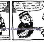 Kartun Malaysia , kalau sibuk dengan business pun agak-agakla!!