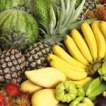 Khasiat buah-buahan tempatan