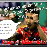 Kejohanan Badminton terbuka India superseries 2011