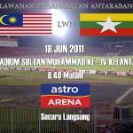 Keputusan terkini malaysia vs myanmar 18 June 2011