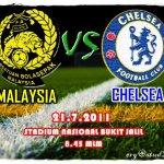 Keputusan terkini malaysia vs Chelsea 21 Julai 2011