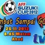 Keputusan terkini Malaysia VS Singapura 25NOV 2012 (Suzuki CUP 2012)