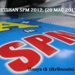 Keputusan SPM 2012, 20 mac ini,