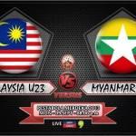 Malaysia u23 vs Myanmar u23 , pestabola merdeka 2013