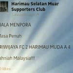 Harimau muda tewaskan 4-2sriwijaya fc, menpora cup 2013