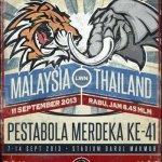 Malaysia u23 vs thailand u23, pestabola merdeka 2013