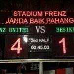 Keputusan frenz united u-16 vs besiktas u16 17 januari 2014