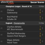 Keputusan champions league round of 16, 19 mac 2014