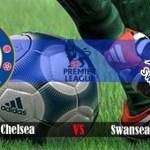 Keputusan terkini chelsea vs Swansea City 13.04.2014
