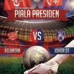 Keputusan terkini JDT u21 vs Kelantan u21 suku akhir pertama, piala presiden 2014