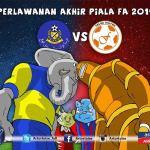 Pahang vs felda united final piala fa 7 june 2014