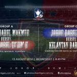 Keputusan terkini jdt vs kelantan 13/08/2014 piala malaysia