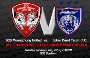 jdt vs muang thong united 2.2.2016, poster jdt vs muang thong united 2.2.2016,