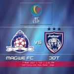 Live streaming JDT vs Magwe afc cup 7.3.2017