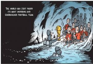 PIALA DUNIA 2018,save 12 budak sesat dalam gua,