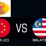 Keputusan malaysia 2-2 china piala afc u23 26.3.2019