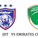 JDT tewas 2-3 Emirates Club 30.1.2020 (video highlights)