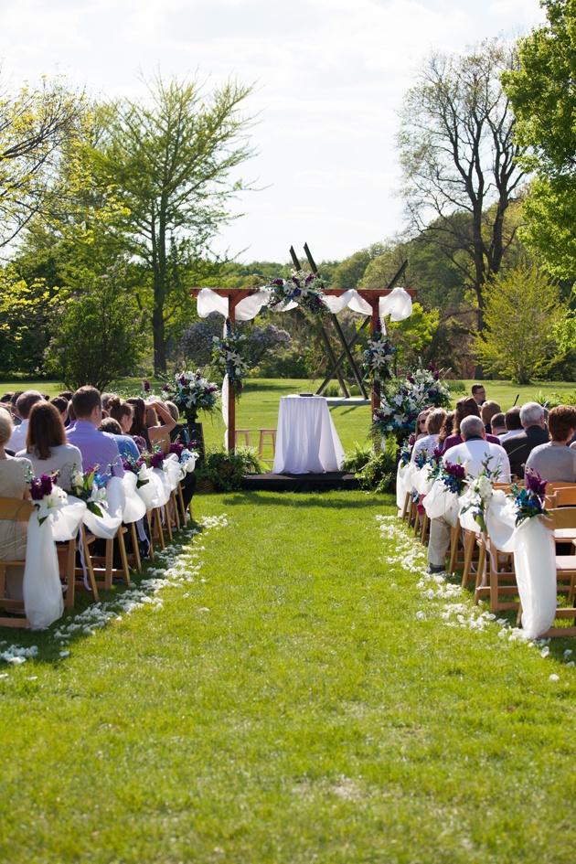 Kristen Caleb S Boerner Botanical Gardens Wedding