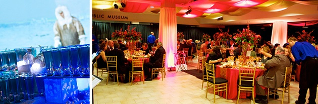 Milwaukee Public Museum Top Milwaukee Holiday Party Venues