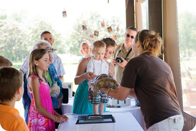 Racine County Zoo Ourdoor Picnic