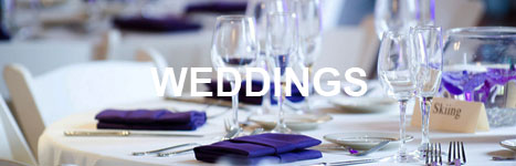 sample weddings menu