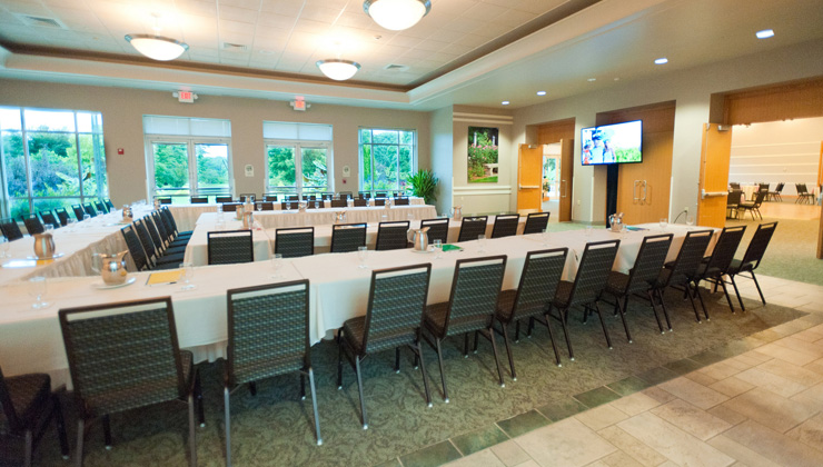 Boerner Botanical Garden meeting room