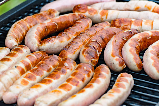 Johnsonville Brats on the Grill