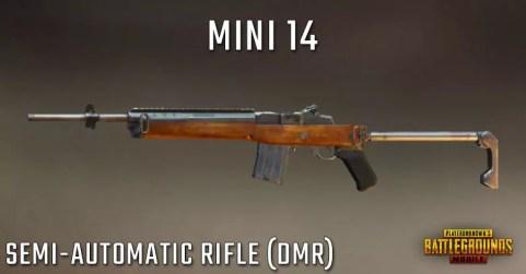 سلاح بندقية لعبة ببجي Mini14