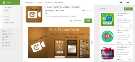 Slow Motion Video Creator