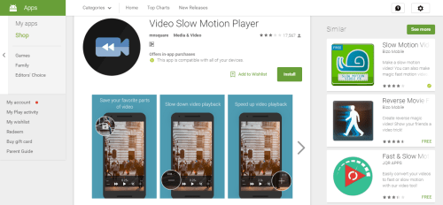 Video Slow Motion Player