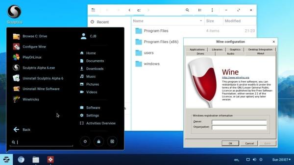How to run windows application on Linux using Wine 4.0