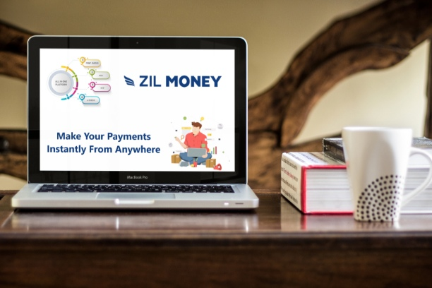 Bank Check Design Zil Money