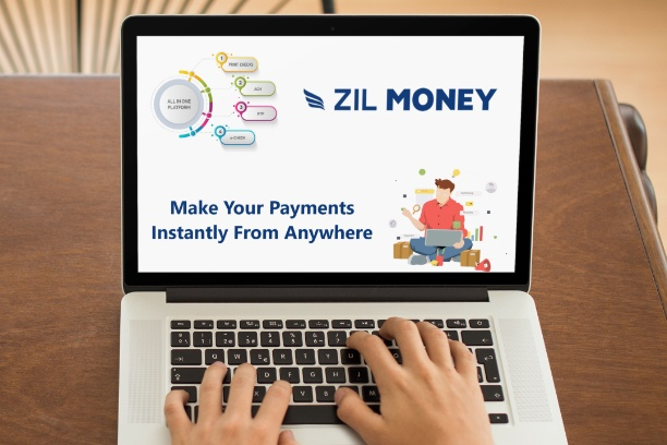 Send Digital Checks Zil Money