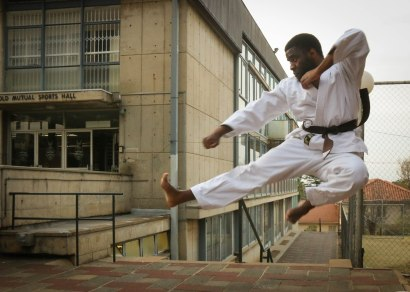 KARATE KID: Simba Tevera is one of five Witsies featured on the Mail & Guardian Top 200 Young South Africans list. Tevera hopes his nomination will allow him to impact and inspire the youth.