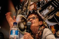 Gwen Ansell at the 2017 Cape Town International Jazz Festival debate on ...