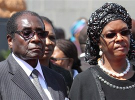 Zimbabwe cop charged for calling Mugabe 'too old to rule' and Grace a 'prostitute'
