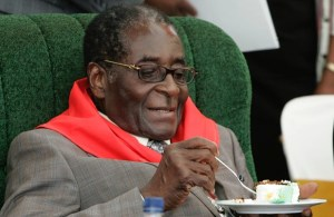 'We won't allow anyone to tell us Mugabe, 93, is old,' says minister